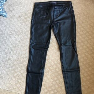Guess faux leather pants